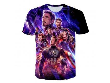 0 2019 New design t shirt men women marvel Avengers Endgame 3D print t shirts Short sleeve